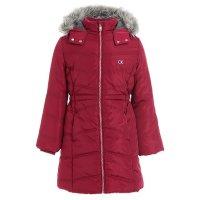 女幼童长款保暖外套