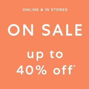 Up to 40 % offSelected Apparel、Shoes @ Saks Fifth Avenue