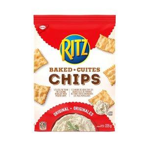 芝士味饼干$1.97白菜价:Ritz 乐芝饼干 各种口味满满幸福感 低钠饼干$2收