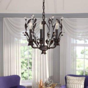 Willa Arlo InteriorsGiovanna 3-Light Candle Style Chandelier