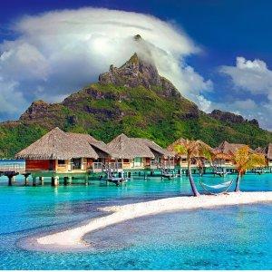 From $537 San Jose  CA to Tahiti RT Airfare
