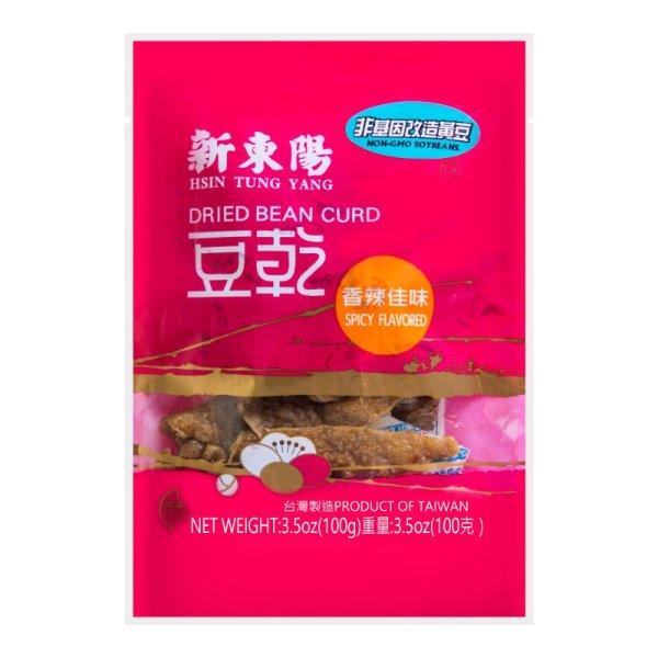 台湾新东阳 豆干 香辣佳味 100g