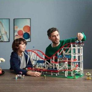 €349.99 手慢无Lego官网 Creator系列之过山车惊喜补货 真的可以动哦