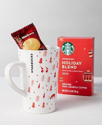 咖啡+饼干+咖啡杯套装