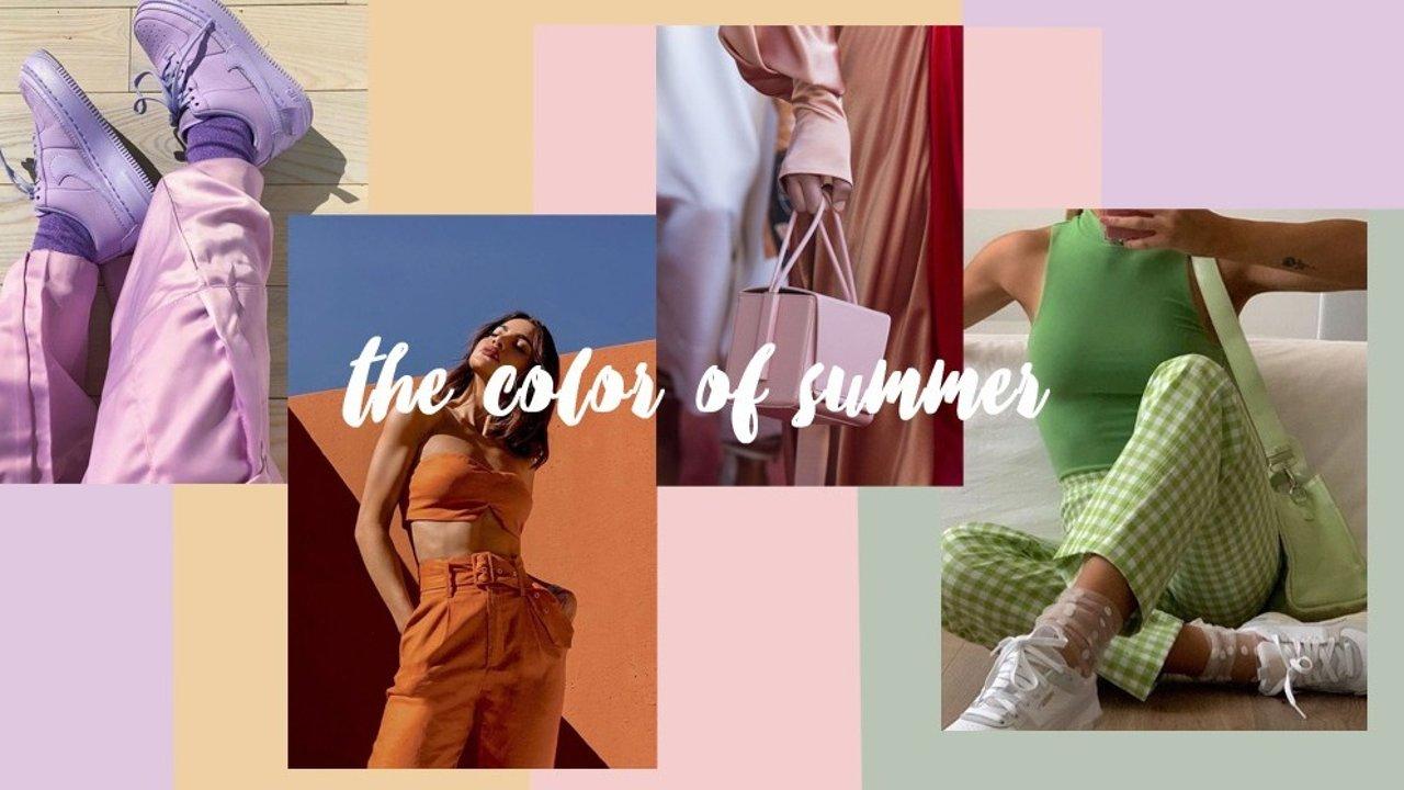 搭配灵感 | 又是一个冰淇淋色的夏天!这些颜色你玩过瘾了吗?