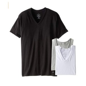 $22.99(Org. $39.50)Calvin Klein Men's Cotton Classics V-Neck T-shirts @ Amazaon