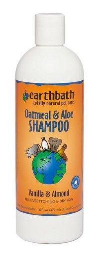 Earthbath Oatmeal & Aloe Dog & Cat Shampoo, 16-oz bottle - Chewy.com