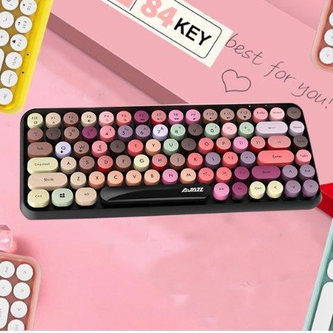 £28.99起收Felicon 无线口红键盘 打字机风格 多样式可选