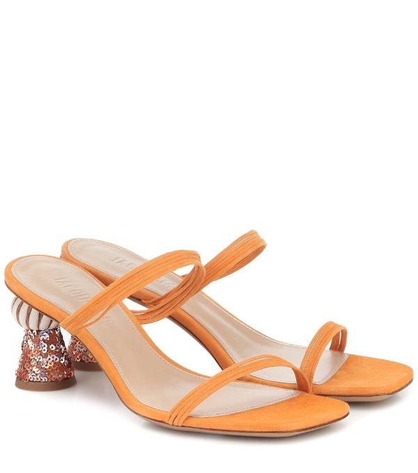 Les Mules Vallena凉鞋