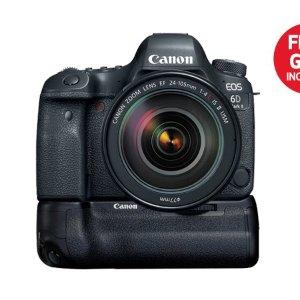 买6D II 就送手柄佳能Canon 微单及单反相机, 相片打印机 母亲节最佳官方优惠