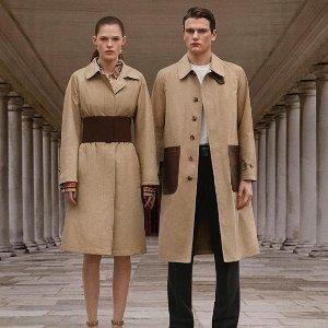 低至6折 多色围巾$273Burberry 男女服饰包包热卖 入手格子围巾,衬衫,logo风衣