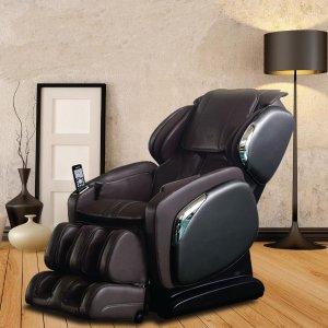TitanOsaki 4000LS 专业高级皮按摩椅 棕色