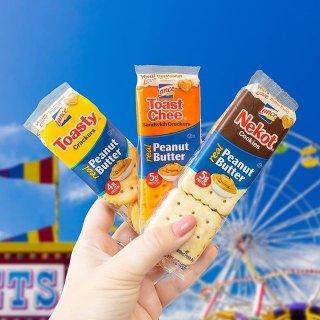 36袋仅$11.1 每袋$0.3Lance  4种口味夹心饼干混合装