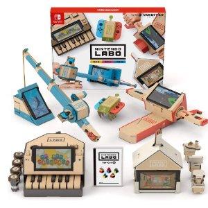 2个直邮美国到手价$71Nintendo 任天堂 Labo Toy-Con 01 纸板模块 新低价