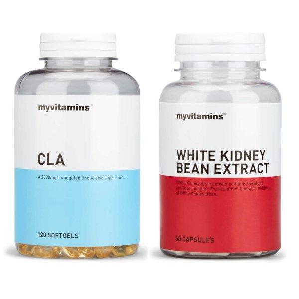 减肥套装(CLA+白芸豆精华 阻断剂+饱腹感神器)