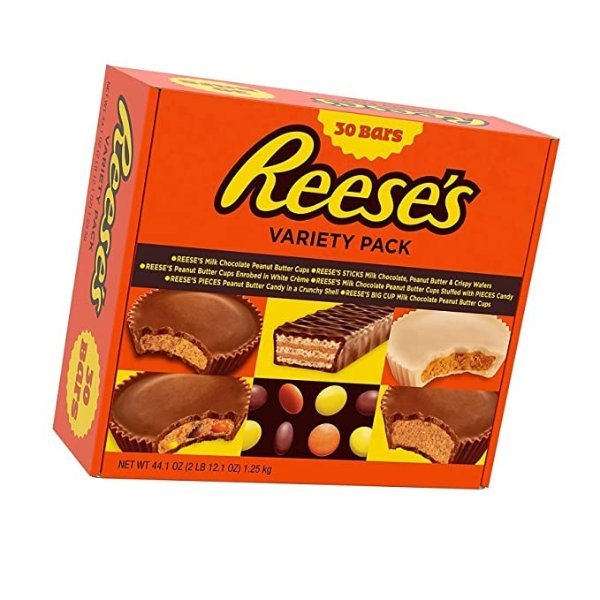 REESE'S 什锦巧克力包 30块