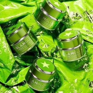 送价值$59的正装橙罐面膜Glamglow 绿瓶卸妆清洁面膜热卖 双效合一所有肤质都合适