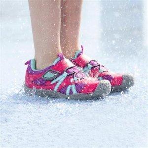 8.5折+额外7.5折 还可机洗最后一天:PediPed 官网 儿童水鞋四日热卖,淌水速干 夏天必备