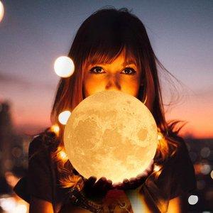 £14收封面同款月球灯amazon精选 浪漫月球灯 3D打印逼真外观 送给你的TA