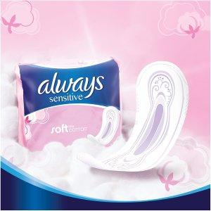 5.6折起 18张加长款低至€1.41Always、Nana 卫生巾直降 超值低价囤货正合适 多款可选