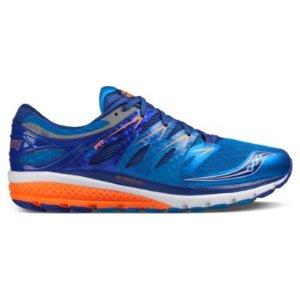 Zealot ISO 2  男士蓝色配橘色运动跑鞋