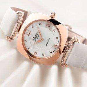 $2995Dealmoon Exclusive:Glashutte Pavonina Women's Watch 1-03-02-04-05-30