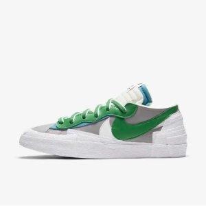 Nikesacai 联名 经典绿色