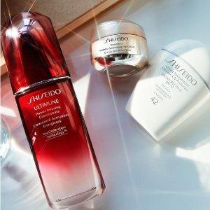 低至4.2折!时光琉璃折上折!Shiseido资生堂霸哥价!蓝胖子套装!收悦薇,百优套装!