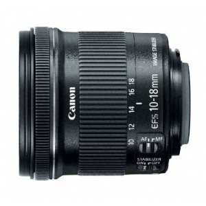$199Canon EF-S 10-18mm f/4.5-5.6 IS STM 广角变焦镜头