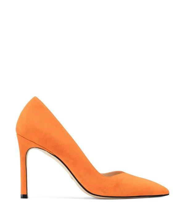 ANNY 麂皮高跟鞋