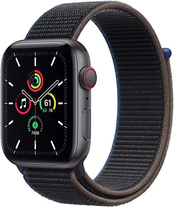 Apple Watch SE (GPS + 蜂窝网络, 44mm)