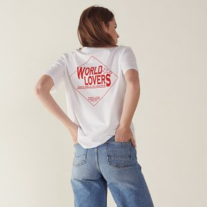 低至3折 $34收封面T恤Sandro Paris 超高颜值精美上衣热卖