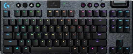 - G915 TKL Tenkeyless LIGHTSPEED Wireless TKL RGB Mechanical Gaming GL Tactile Switch Keyboard with Back Lighting - Black