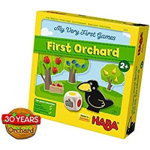 Amazon.com: HABA My Very First Games - First Orchard Cooperative Game Celebrating 30 Years (Made in Germany): Toys & Games