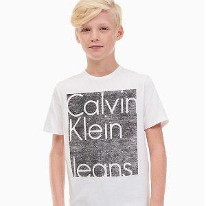 女孩bra $2.8/件 小内内$2.1/条限今天:Calvin Klein官网 儿童内衣、服饰低至2.5折+额外7折