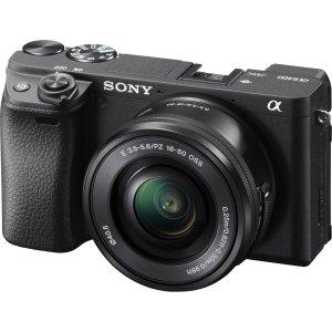 $998 收55-210mm单镜头套装Sony a6400 新款微单首次大幅优惠 无税+立省$248