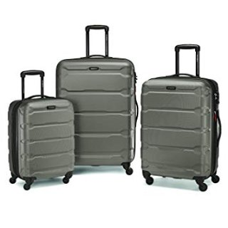$202.39Samsonite Omni 20、24、28吋硬壳万向轮旅行箱三件套