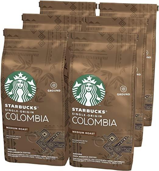 Single Origin哥伦比亚中度咖啡 200g Bag 6包