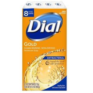 白菜价:Dial 抗菌香皂 4oz 8块