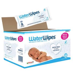 18包装 现价£32.99(原价£39.99)WaterWipes敏感肌肤用 宝宝湿纸巾 柔嫩肌肤的保护 特卖