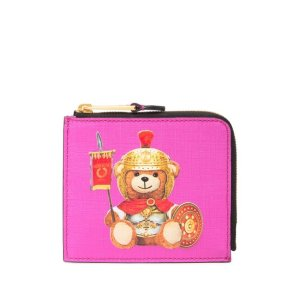 MoschinoEco Leather Teddy Bear Pouch