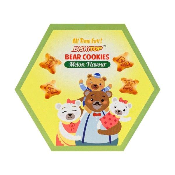BISKITOP 小熊饼干 哈密瓜味 100g 5包