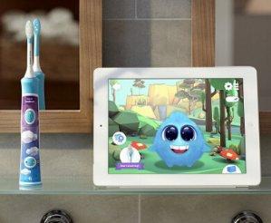 $49.99(原价 $59.99)Philips 飞利浦Sonicare HX6321/02 儿童声波电动牙刷