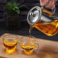 OBOR 精致玻璃滤茶壶,带茶滤,950ml
