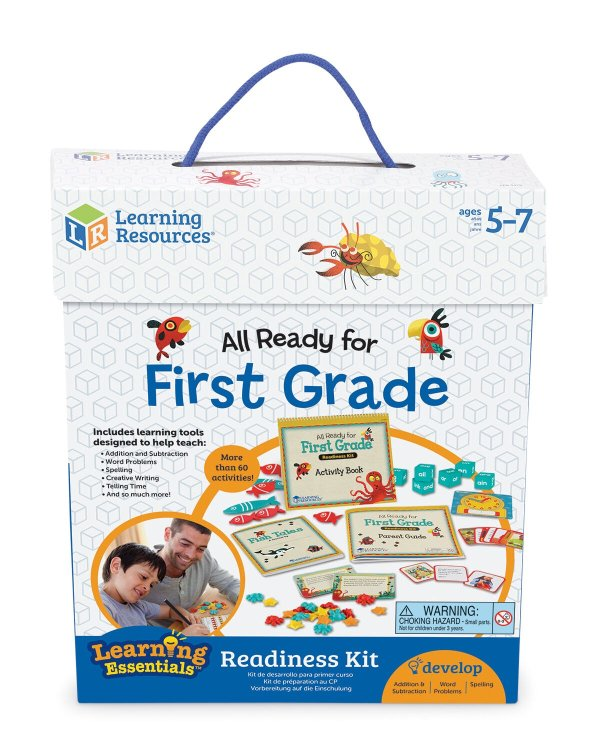 66-Piece 一年级学习所需玩具素材大礼包