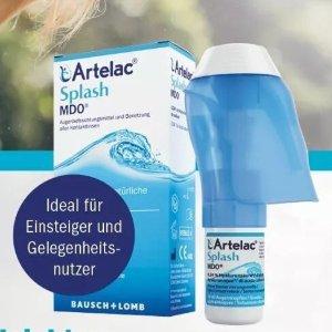 仅€11.79收10ml装(原价€14.95)Artelac Splash MDO 玻尿酸滴眼液 缓解眼疲劳 办公低头族救星