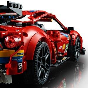 "Lego暂时缺货法拉利 488 GTE ""AF Corse #51"" 42125   机械组"