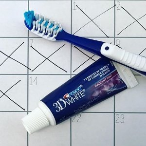 $5.61(原价$11.84)Crest 佳洁士3D美白牙膏特卖 4只装套组
