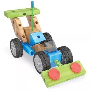 $16.09 (原价$49.99)Smarty Parts 木质组装车套装 125pc