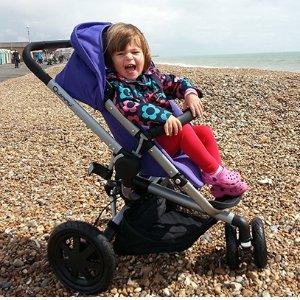 $350(原价$667.03)史低价:Quinny Buzz Xtra 2.0 时尚婴儿双向推车紫色款